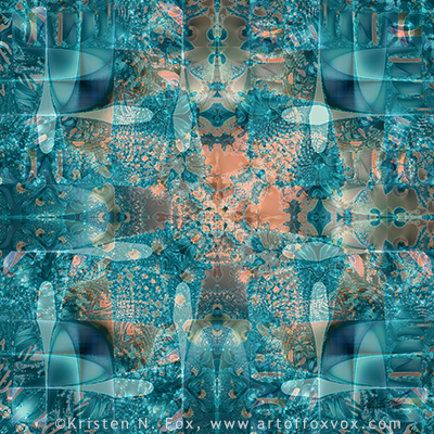 Subaqueous Digital Fractal Art - prints available for purchase